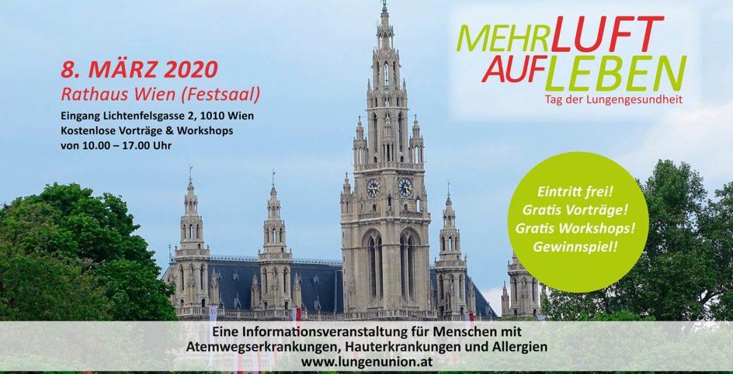 Rathaus Tag der Lunge 2020