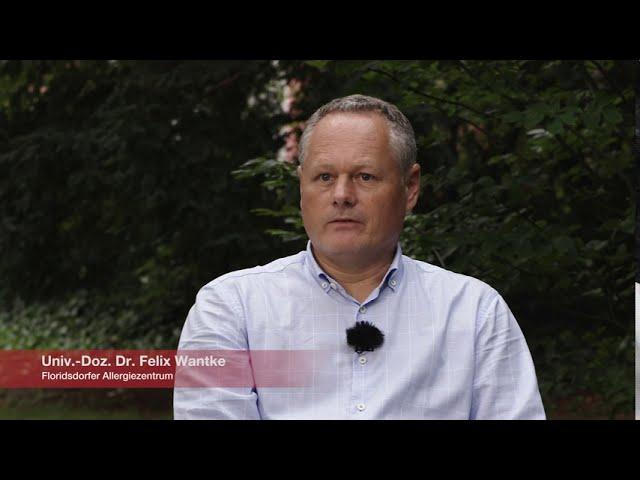 Univ.-Doz. Dr. Felix Wantke.