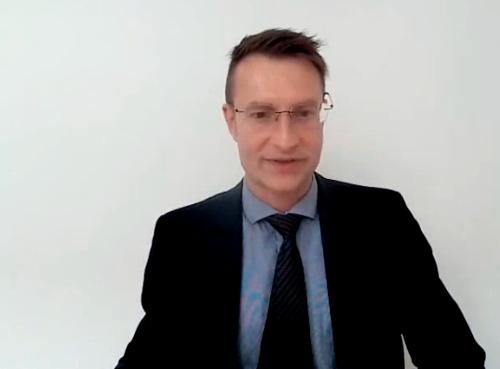 Univ. Prof. Dr. Mathias W. Pletz, Foto: Screenshot Videomitschnitt Pressekonferenz Deutsche Gesellschaft für Pneumologie und Beatmungsmedizin