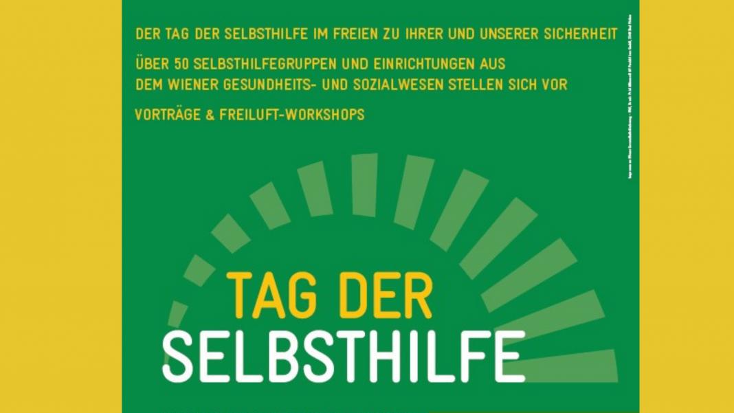 Tag der Selbsthilfe im Freien am 26. September im Wiener Rathaus