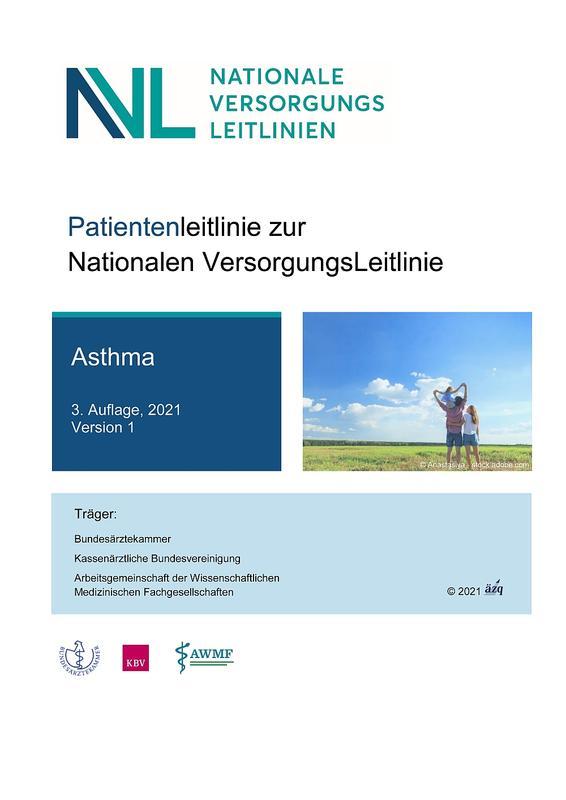 """Patientenleitlinie """"Asthma"""""""